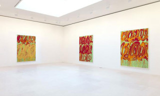 "Cy Twombly ""Camino Real"" at Gagosian (Paris)"