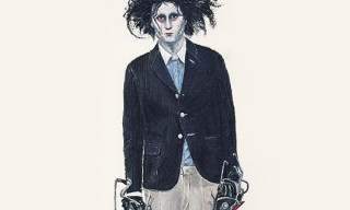 John Woo for Highsnobiety – Edward Scissorhands wears Band Of Outsiders
