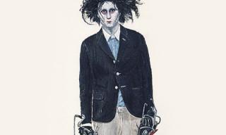 John Woo for Highsnobiety – Edward Scissorhands wears Band Of Outsiders