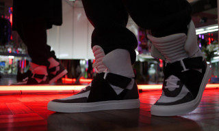 Giuliano Fujiwara High Top Sneakers