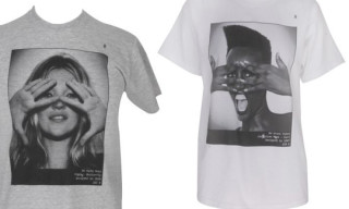 Hype Means Nothing Kate Moss and Grace Jones T-Shirts