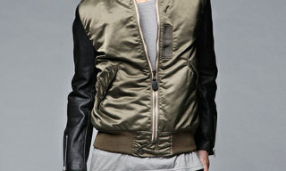 Hysteric Glamour Biker MA-1 Jacket Fall/Winter 2010