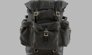 L.L.Bean Signature Saltwash Canvas Backpack