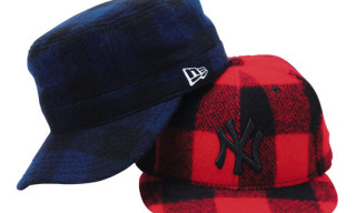 New Era x Woolrich Caps