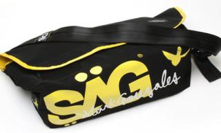 SÄG x Mark Gonzales Messenger Bag