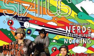 Status Magazine October/November 2010 Issue – N.E.R.D. x Friends With You Cover