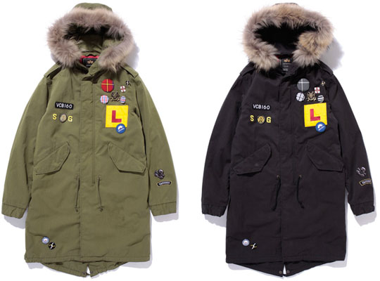 Swagger x Alpha Fishtail Parka | Highsnobiety
