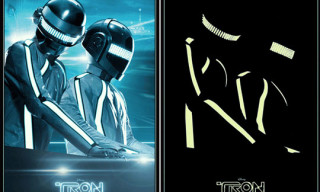 Official TRON Legacy Soundtrack Daft Punk Poster