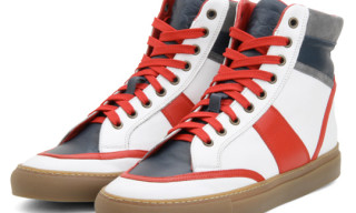 Trussardi 1911 High Top Sneakers Fall/Winter 2010