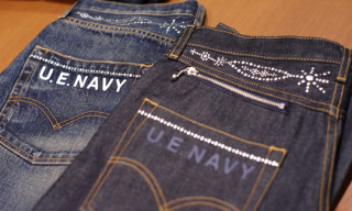 uniform experiment x Levi's Fenom Denim Preview