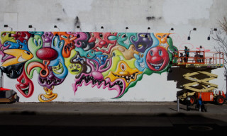 Kenny Scharf Houston Street Mural – Update