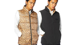 Bounty Hunter Reversible Leopard Down Vest