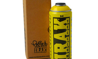 IRAK x Montana Colors Limited Edition Spraycan