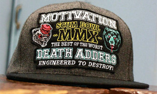 Mishka x Motivation 'Scum Bowl' T-Shirts & Snapback Hat