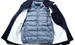 Moncler V Wool Jacket With Down Jacket Liner