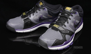 Nike Trainer 1.2 Mid – Dark Grey/Black