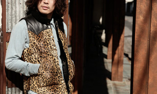 Wacko Maria x Rocky Mountain Featherbed Leopard Down Vest