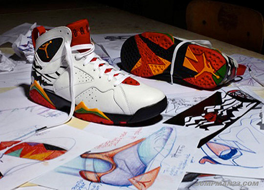 air jordan 7 collection