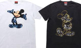 "CLOT x Disney x Madsaki ""Mickey Mouse"" T-Shirts"