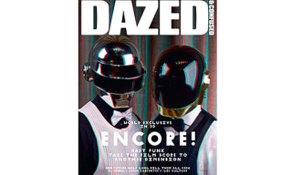 "Dazed & Confused December 2010 ""Encore"" Issue – Daft Punk 3D"