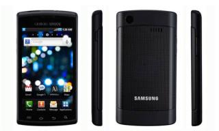 Giorgio Armani x Samsung Galaxy S Phone