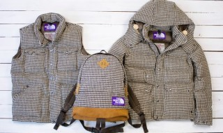 "The North Face Purple Label ""Harris Tweed Houndstooth"" Pack"