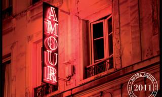 Hotel Amour Paris 2011 Calendar