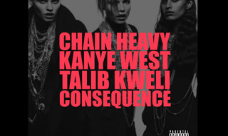 Music: Kanye West featuring Consequence & Talib Kweli – Chain Heavy (Produced by Q-Tip)