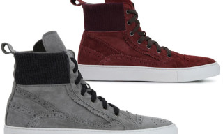 Les Hommes Knit Sneakers Fall/Winter 2010