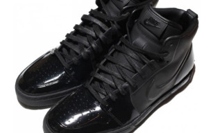 Nike Air Royal Mid Matte Black/Black Patent