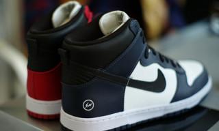 Nike x fragment design Dunk Hi Preview