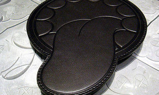 Original Fake Leather Mousepad