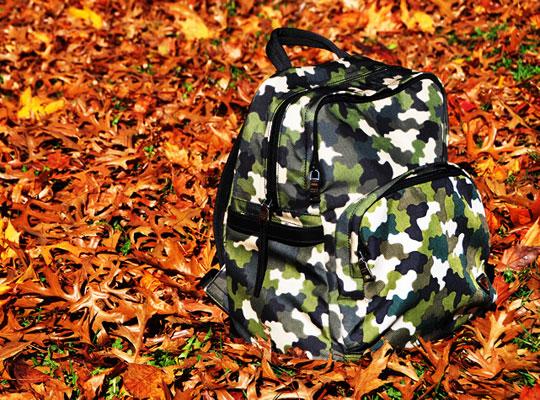 prada camouflage backpack fallwinter 2010 highsnobiety