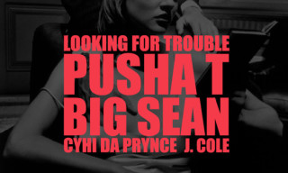 "Music: G.O.O.D. Fridays – Pusha T featuring Cyhi The Prynce, Big Sean, Kanye West and J.Cole ""Looking For Trouble"""