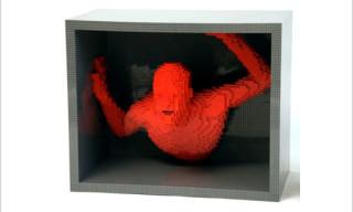 RED: The LEGO ® Brick Sculpture of Nathan Sawaya