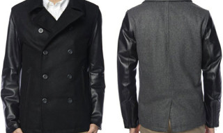 Tokishirazu Leather Peacoat Holiday 2010