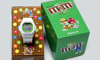 "Casio Baby-G x M&M's ""Crispy Mint"" Watch"