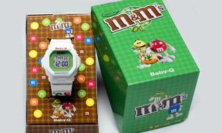 "Casio Baby-G x M&M's ""Crispy Mint"" Watch"