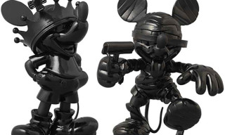 Roen x Medicom Mickey Mouse Figures – Black on Black