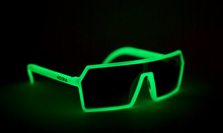 Nooka Mercury Glow In The Dark Sunglasses