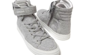 Pierre Hardy Fleece Sneakers