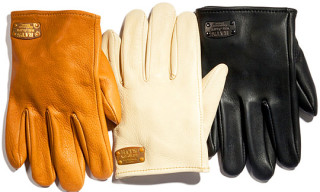 Rats x Churchill Leather Gloves