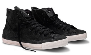 Schott for Converse Chuck Taylor All Star Leather Jacket Sneakers