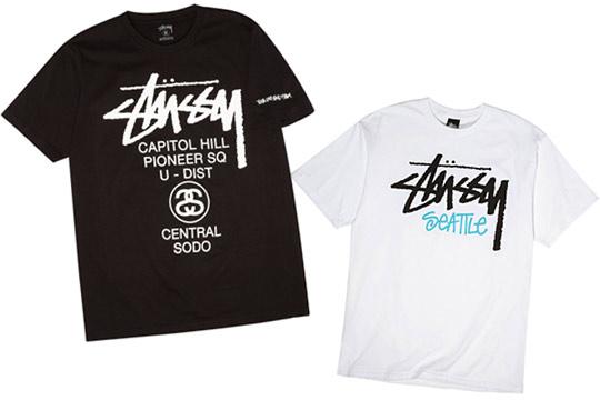 Stussy Seattle 1 Year Anniversary T Shirts Highsnobiety