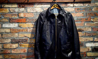 Stussy x Prankster Associates Leather Car Coat