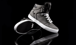 Supra Vaider Black Washed Canvas – Zumiez Exclusive