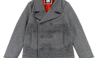 Swagger 'Paisley' Melton Pea Coat