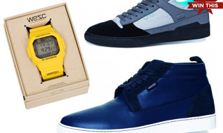 Highsnobiety Giveaway – WESC Sneakers & G-Shock Watch