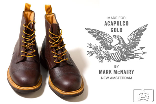 Acapulco Gold X Mark Mcnairy New Amsterdam Boots