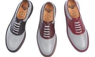 Dr. Martens x URSUS Bape Saddles Shoes